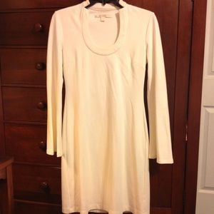 BOSTON PROPER Winter White Elegant Dress